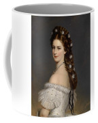 Portrait Of Empress Maria Alexandrovna Coffee Mug