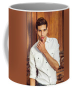 Portrait Of Young Businessman.  Coffee Mug