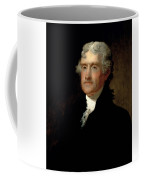 President Thomas Jefferson  Coffee Mug by War Is Hell Store