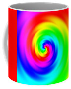 Psycho Hypno Floral Pattern Coffee Mug
