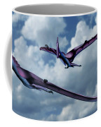 Pterodactyls In Flight Coffee Mug