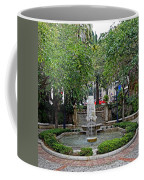 Public Fountain And Gardens In Palma Majorca Spain Coffee Mug