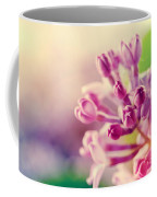 Purple Spring Lilac Flowers Blooming Close-up Coffee Mug