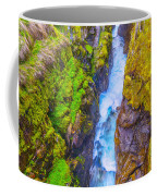 Pyrenees Waterfall Coffee Mug