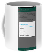 Qr Code Reader Coffee Mug
