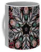 Quilted Starflower Coffee Mug
