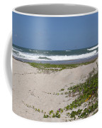 Railroad Vine And Sea Oats On The Atlantic In Florida Coffee Mug
