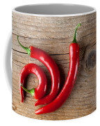 Red Chili Pepper Coffee Mug by Nailia Schwarz