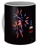 Red White And Blue Coffee Mug by Susan Candelario