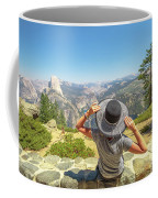 Relaxing At Glacier Point Coffee Mug