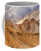 Rocks And Stones Mountains Ladakh Landscape Leh Jammu Kashmir India Coffee Mug