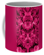 Roses Tapestry And Curls Coffee Mug