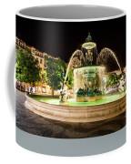 Rossio Square Night Coffee Mug