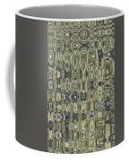 Saguaro Skin Abstract Coffee Mug