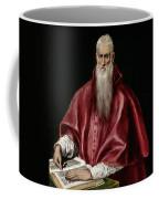 Saint Jerome As Scholar Coffee Mug