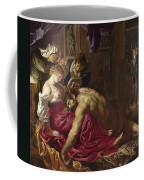 Samson And Delilah Coffee Mug