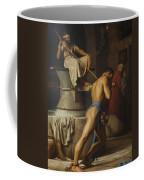 Samson And The Philistines Coffee Mug