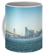 San Francisco California City Skyline At Spring Sunset Coffee Mug