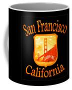 San Francisco California Golden Gate Design Coffee Mug