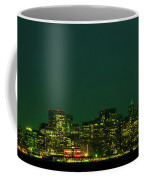San Francisco Nighttime Skyline Coffee Mug