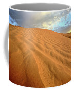 Sand Dune At Great Sand Hills In Scenic Saskatchewan Coffee Mug