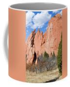 Sandstone Spires In Garden Of The Gods Coffee Mug