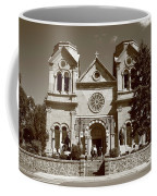 Santa Fe - Basilica Of St. Francis Of Assisi Coffee Mug