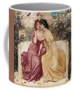 Sappho And Erinna In A Garden At Mytilene Coffee Mug