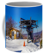 Scenery Around Timberline Ski Resort West Virginia Coffee Mug