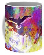 Seagull Blue Sky Freedom Air Fly  Coffee Mug