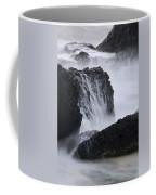 Seal Rock Waves And Rocks 4 Coffee Mug