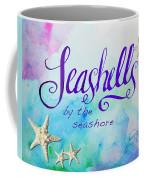 Seashells By Jan Marvin Coffee Mug