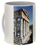 Segesta Greek Temple In Sicily, Italy Coffee Mug