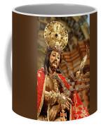 Senhor Bom Jesus Da Pedra Coffee Mug by Gaspar Avila