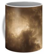 Sepia Clouds Coffee Mug by David Pyatt