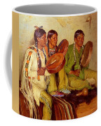 Sharp Joseph Henry Hunting Song Taos Indians Joseph Henry Sharp Coffee Mug