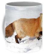 Sneaky Red Fox Coffee Mug