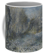 Snow Covered Landscape Coffee Mug