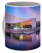 Spokane Washington City Skyline And Convention Center Coffee Mug