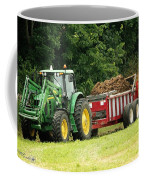 Spreading Manure Coffee Mug