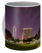 St Petersburg Florida City Skyline And Waterfront At Night Coffee Mug