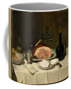 Still Life With Ham Coffee Mug