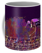 Stork Bird Fly Plumage Nature  Coffee Mug