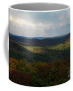Storm Clouds Over Fall Nature Scenery Coffee Mug