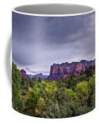 Storm Over Sedona  Coffee Mug