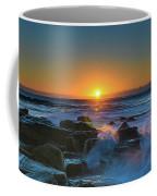 Sunrise And The Sea Coffee Mug