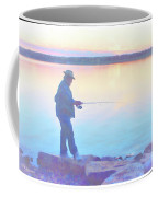 Sunrise Fisherman Coffee Mug