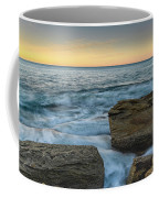 Sunrise On The Rocky Coast Coffee Mug