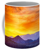 Sunrise Over Colorado Rocky Mountains Coffee Mug