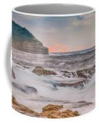 Sunrise Seascape And Headland Coffee Mug